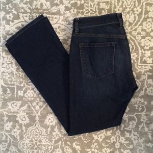 Loft 28/6 Curvy Boot Cut Jeans 28.5 Inseam